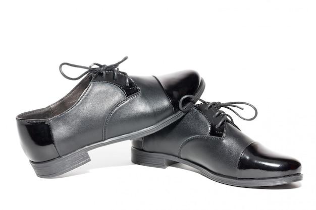 Zwarte vrouwelijke schoenen