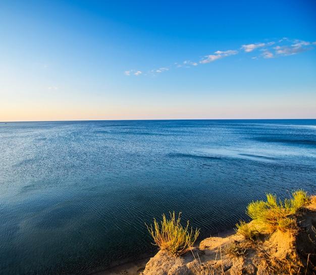 Zwarte zee kust