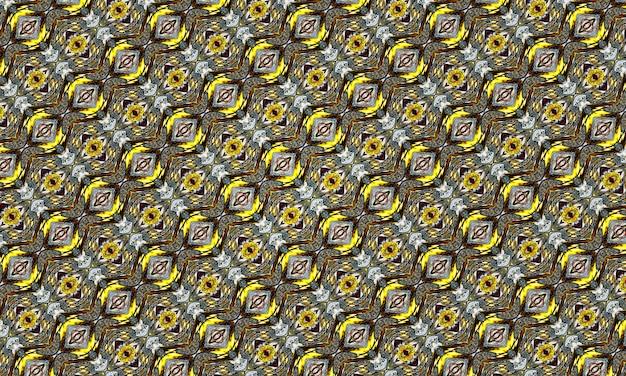 Zwavel kettingen patroon. naadloze achtergrond van natuurlijk zwavelmineraal.