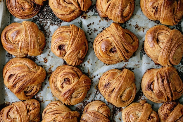 Zweedse kaneel zoete broodjes