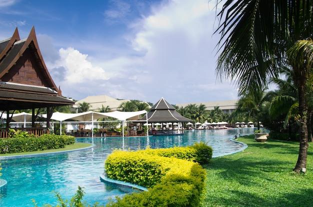 Zwembad in thailand