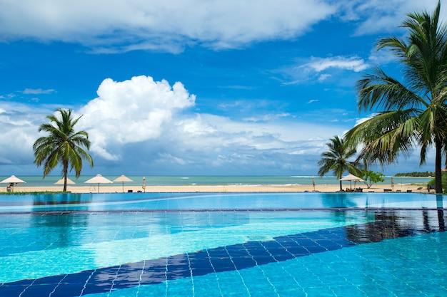 Zwembad - luxe hotel