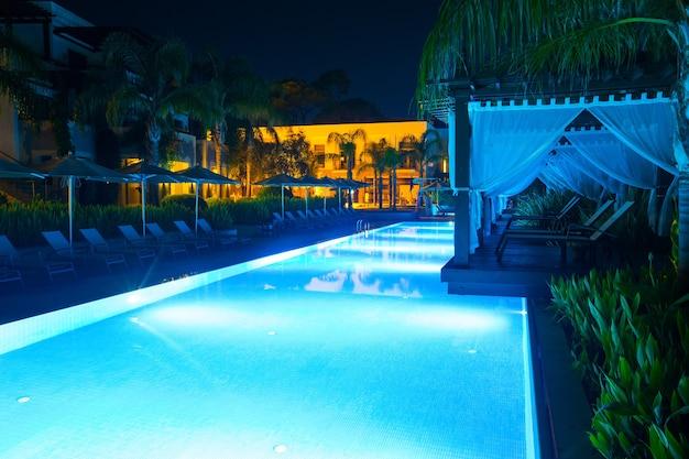 Zwembad van luxe hotel