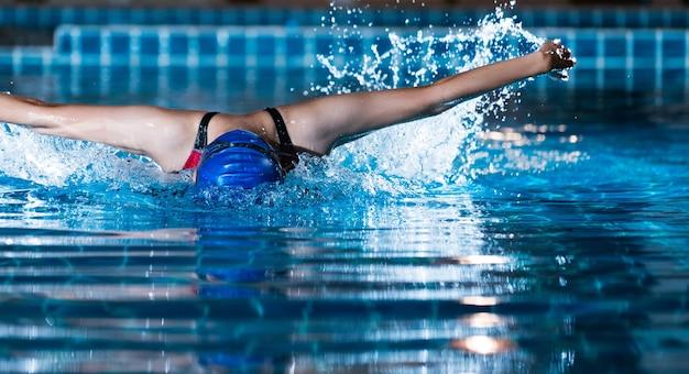Zwemmers zwemmen