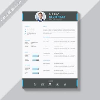 CV-sjabloon