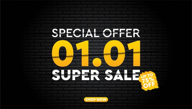 01 01 super verkoop achtergrondsjabloon.
