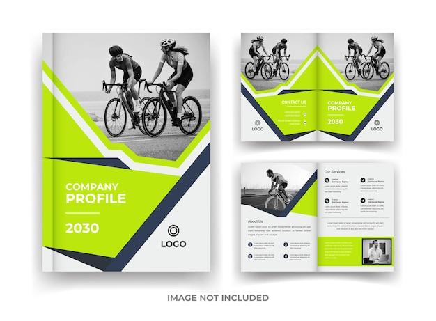 04 page business brochure design en jaarverslag en tijdschriftsjabloon
