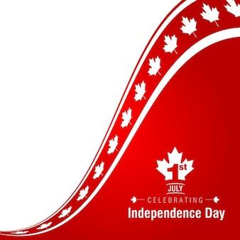 1 juli gelukkige dag van canada achtergrond