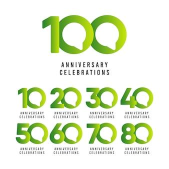 100-jarig jubileumvieringen