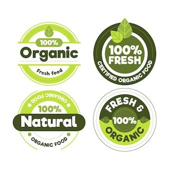100% natuurlijke labelcollectie