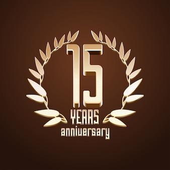 15 jaar jubileum