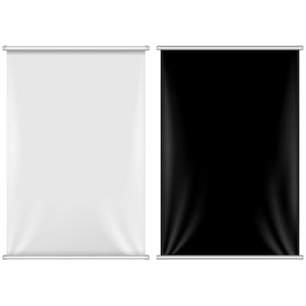 2 banners instellen