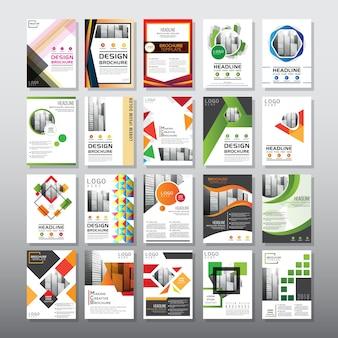 20 brochure-sjabloon instellen