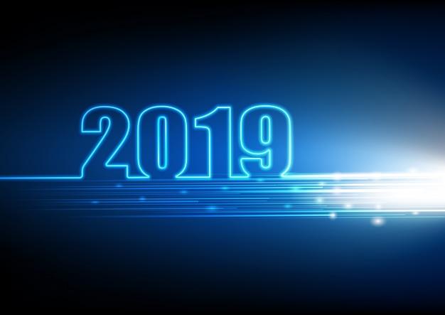 2019 gelukkig nieuw jaar