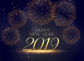 2019 viering vuurwerk mooie achtergrond