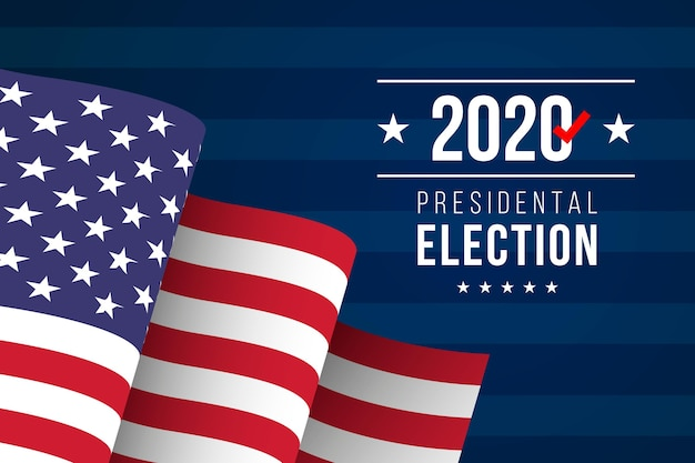 2020 amerikaanse presidentsverkiezingen behang