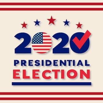 2020 amerikaanse presidentsverkiezingen concept