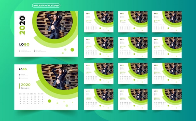 2020 bureaukalender