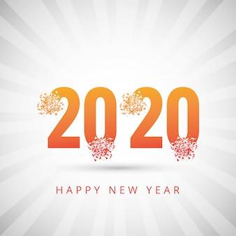 2020 gelukkig nieuwjaar tekst voor wenskaart
