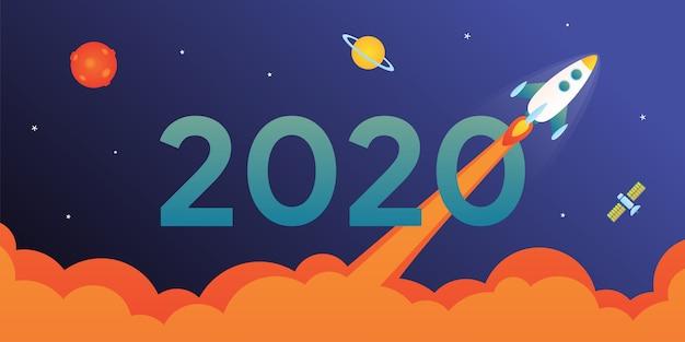 2020 met rocket-kaart
