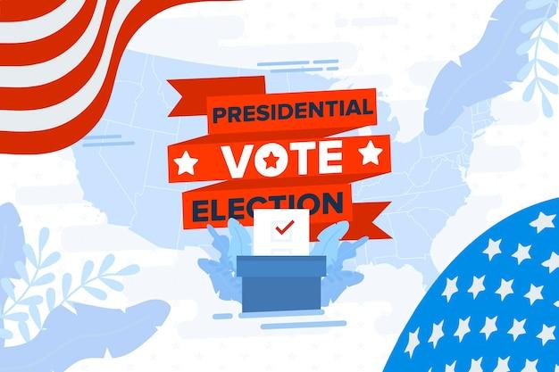 2020 vs presidentsverkiezingen behang