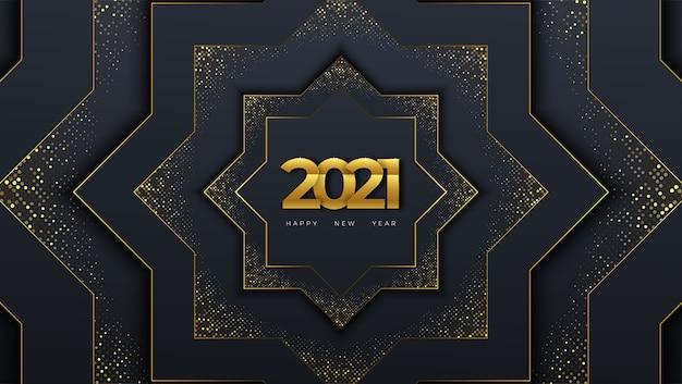 2021 gelukkig nieuwjaar groet feest