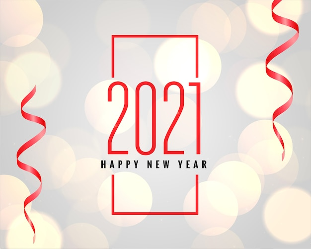 2021 gelukkig nieuwjaar viering wenskaart