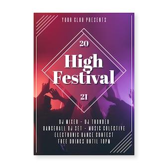 2021 muziekevenement poster