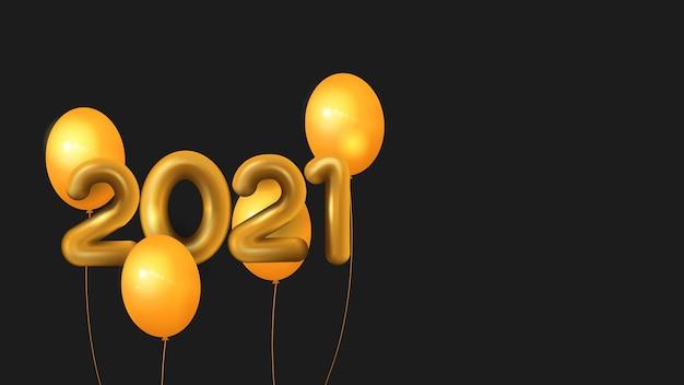 2021 nieuwjaar illustratie