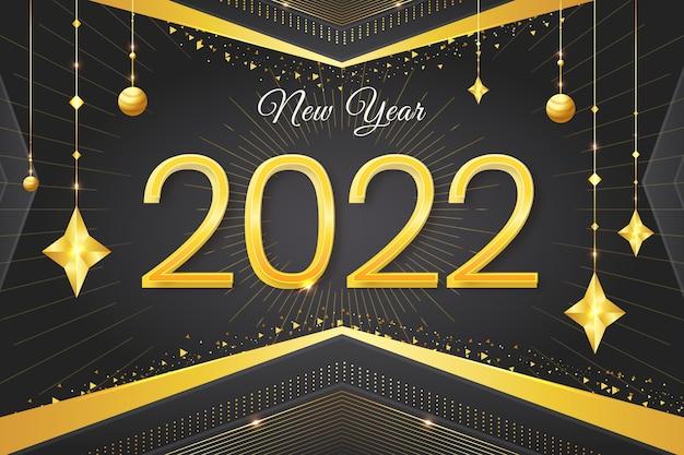 2022 nieuwjaarsviering banner