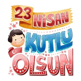 23 april nationale soevereiniteit en kinderen