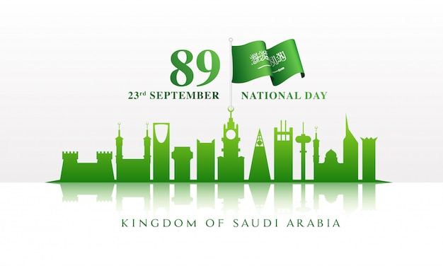 23 september nationale feestdag van de viering van saoedi-arabië