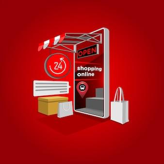 24 uur per dag online winkelen