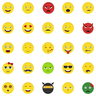 25 emoticons