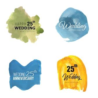 25 huwelijksverjaardag