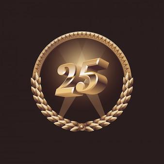 25 jaar jubileumfeest.