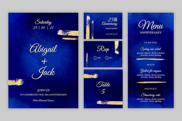 25-jarig jubileum briefpapiercollectie