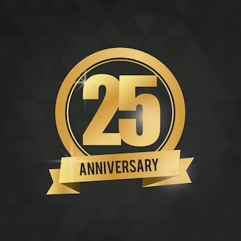 25 jarig jubileum