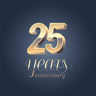 25-jarig jubileum