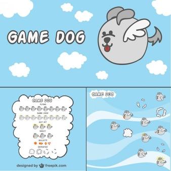 2d spel hondkarakter