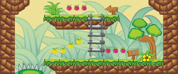 2d tileset platform game 12