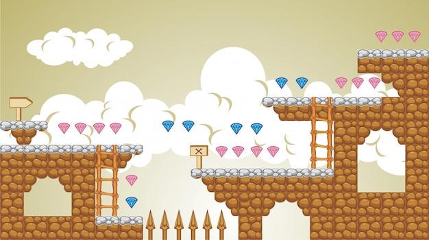 2d tileset platform game 5