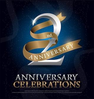 2e jaar jubileum
