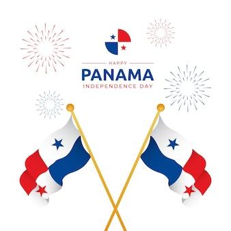 3 november panama onafhankelijkheidsdag vector achtergrondafbeelding