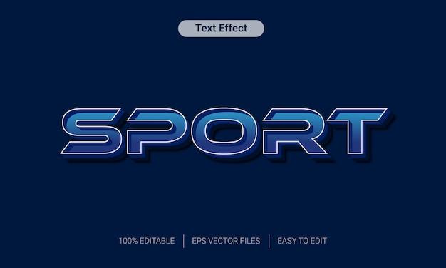 3blue sport teksteffect
