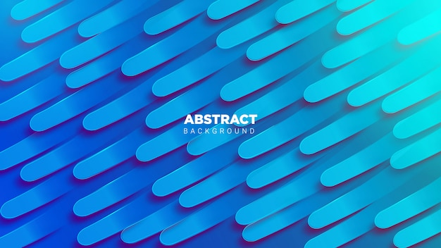 3d abstrack-achtergrond in blauw