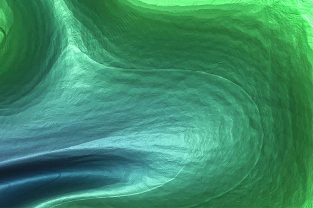 3d abstracte achtergrond. slime metalen textuur. kleurrijke stof