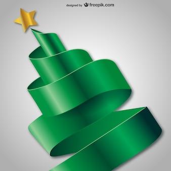 3d abstracte kerstboom