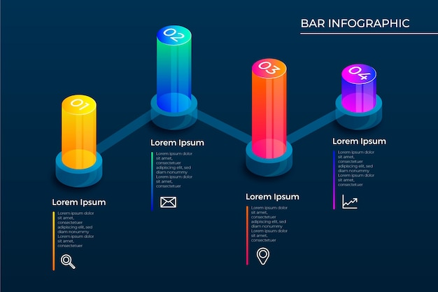 3d-balken infographic