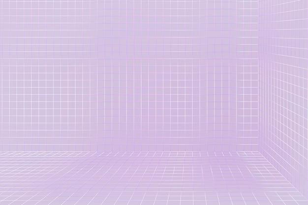 3d draadframe raster kamer achtergrond